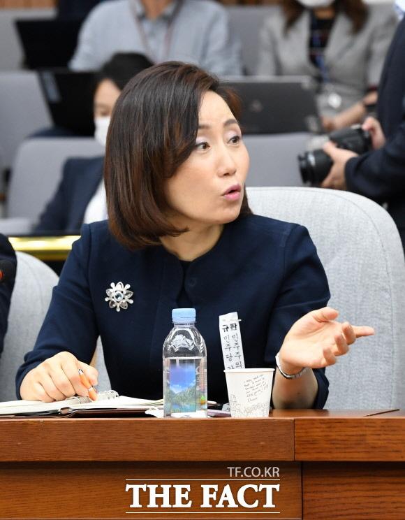 """전주혜 """"민주당, 3분 즉석요리하듯이 부동산법 만들어"""""""